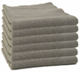 Storm Gray Edgeless Microfiber Polishing Cloth- 6 Pack