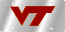 Virginia Tech Hokies NCAA Team License Plate
