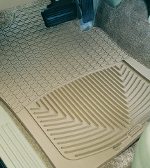 WeatherTech Front and Rear Rubber Floor Mats
