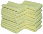 Yellow All Purpose Microfiber Towels 12 Pack