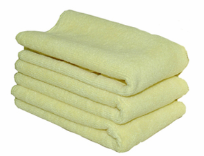 Yellow All Purpose Microfiber Towels