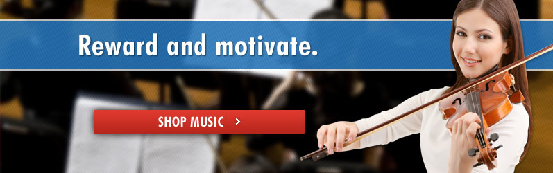 Reward and motivate. Shop Music.