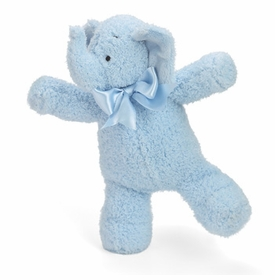 "11"" blue smushy elephant by north american bear"