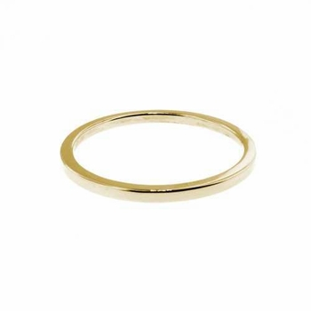 14k gold stacking ring - 1.25mm