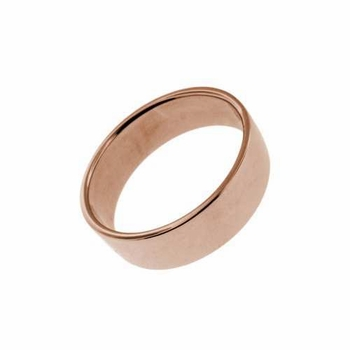 14k rose gold ring - 5mm