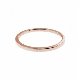 14k rose stacking ring - 1.25mm