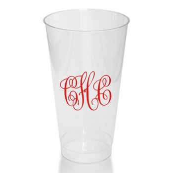 16 Oz Clear Tumblers Cups (Set Of 50)