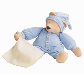 "17"" sleepyhead blue bear by north american bear"