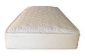 2 in 1 cotton organic ultra quilted twin mattress