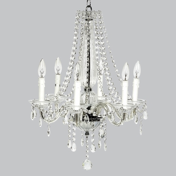 6 arm middleton chandelier