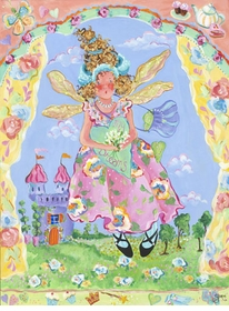 a fairy�s child wall art
