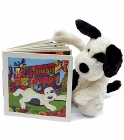 a very busy puppy book by jellycat