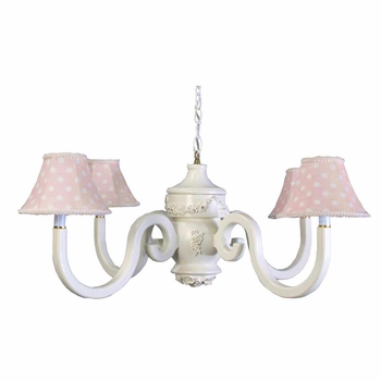 adelaide bella four arm chandelier