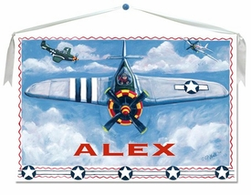 Airplane Wall Hanging 30x20