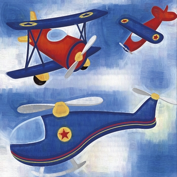 airplanes canvas