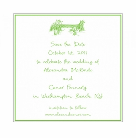 alex & conor save the date card