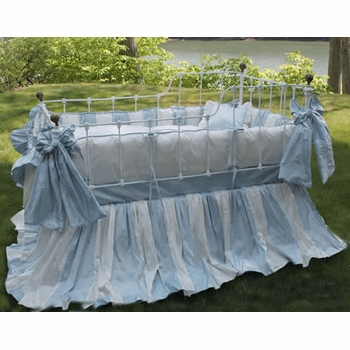 amboise crib bedding by lulla smith (custom colors available)