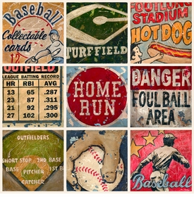 america's favorite pastime wall art