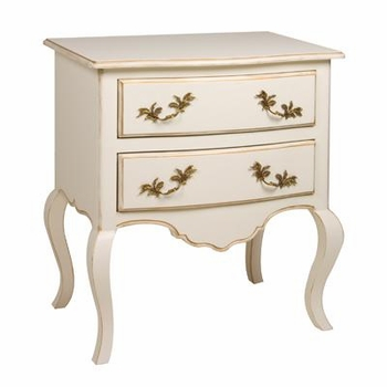 angelica night table versailles creme