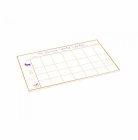 animal schedule pad