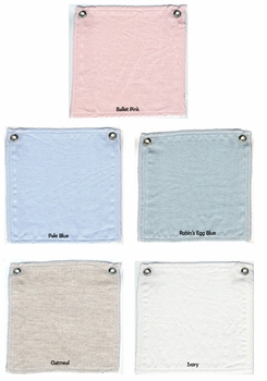 anjou laundered linen crib bedding (custom colors available)