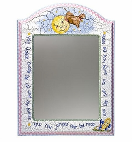 arched mirror (nursery rhymes)