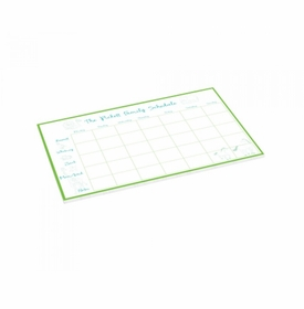 baby animal schedule pad