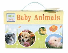 Baby Animals: Books in a Box: 18 Board Books Inside
