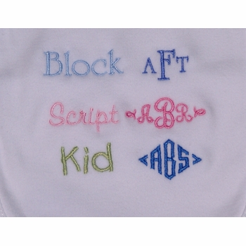 baby bodysuits - personalized  (set of 3)