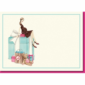 baby box invite (set of 10)