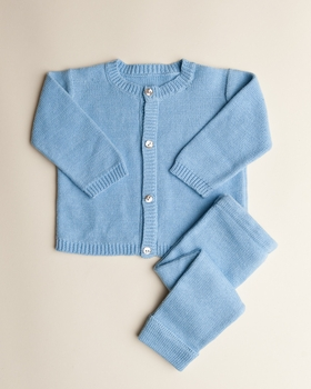 baby boy cardigan set