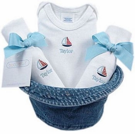 baby boy gift set - bucket hat