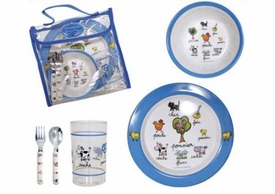 baby cie farm lunch set