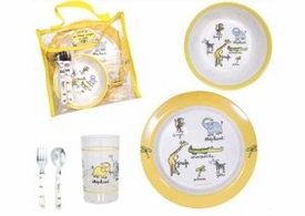 baby cie jungle lunch set