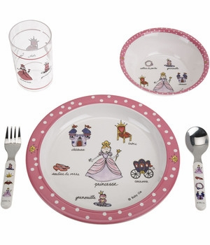baby cie princess lunch set