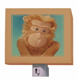 baby orangutan nightlight
