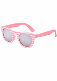 baby pixie candy stripe round sunglasses