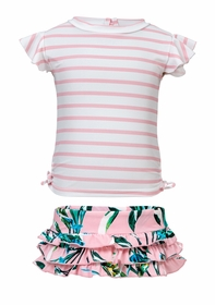 baby royal palm ruffle set
