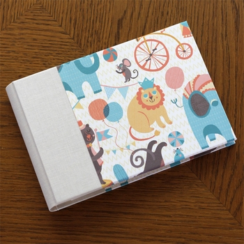 baby's brag book - circus by rag & bone bindery