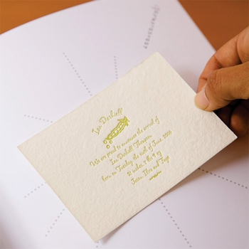 baby's first book - champagne by rag & bone bindery