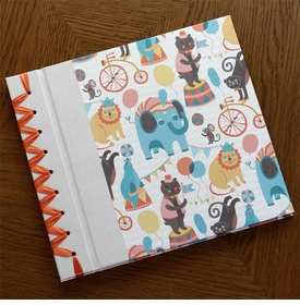 baby's first book - circus by rag & bone bindery