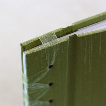 baby's first book - pear green by rag & bone bindery