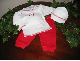 baby's first christmas outfit