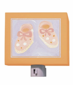 baby shoes nightlight