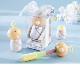 "baby shower favor - expandable ""baby on board"" pen"