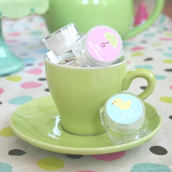 baby shower favor hand cream
