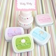 baby shower favor mint tins