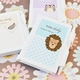 baby shower favor-personalized animal notebook