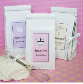 baby shower favor - personalized cookie mix