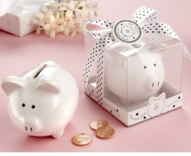 baby shower favor-piggy bank